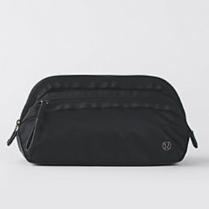 Lululemon Toiletry Bag Dont Sweat It Kit - BLACK